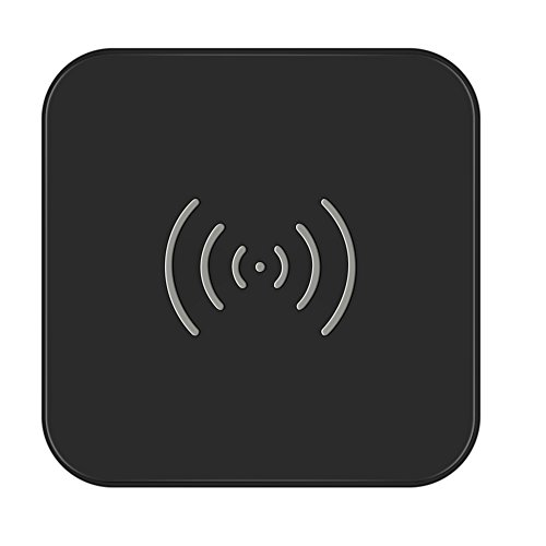 CHOETECH Wireless Charger, Qi Certified T511 Wireless Charging Pad with Anti-Slip Rubber Base for iPhone and Samsung