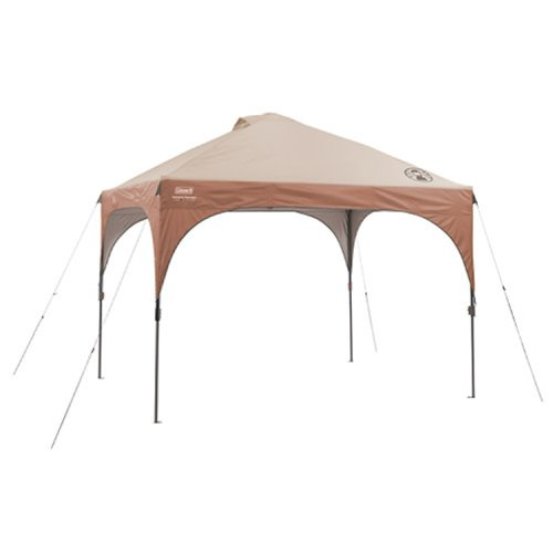 Coleman Instant Canopy Tent with LED Lighting System, 10 x 10 Feet