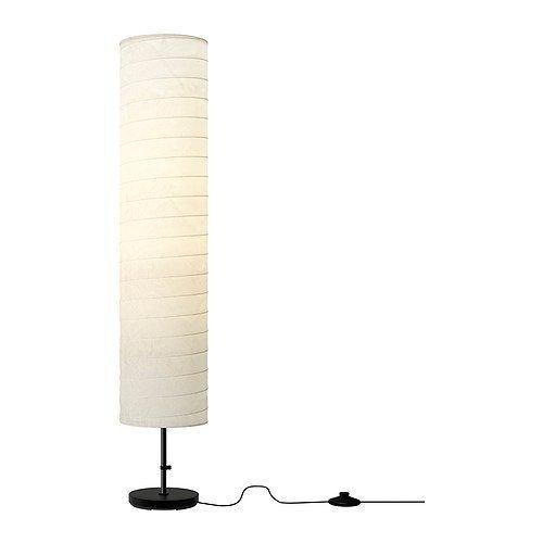 Ikea Floor Lamp, 46-inch, White (White, 2)