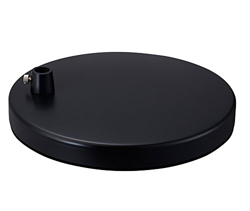 "Phive 7.8"" Round Heavy Desk Lamp Base (Suitable for LK-1 CL-2 Architect Swing Arm LED Desk Lamp)"