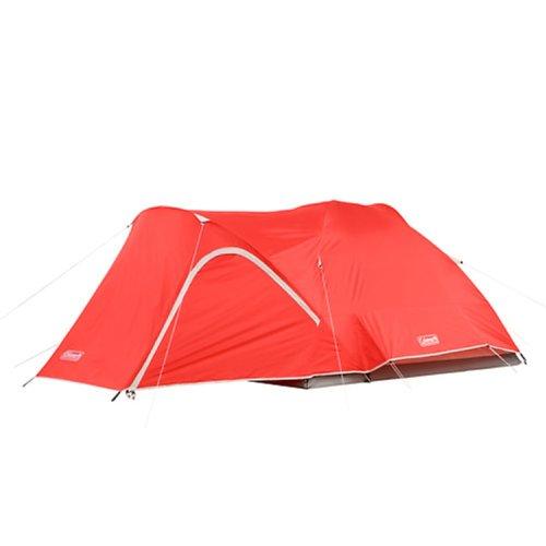 Coleman Hooligan 4-Person Tent,Red