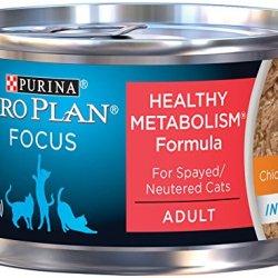 Purina Pro Plan Wet Cat Food, Focus, Healthy Metabolism Formula Chicken Entre