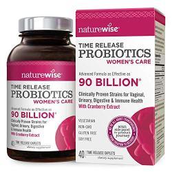 NatureWise Probiotics for Women 90 Billion