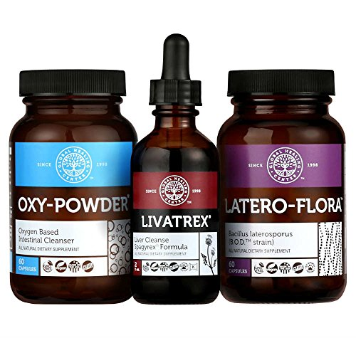 Global Healing Center Liver Cleanse Kit for Liver & Gallbladder Detox & Weight Loss - Eliminate Liver Stones & Increase Energy - Includes Liver Cleanse Formula, Colon Cleanse & Probiotics