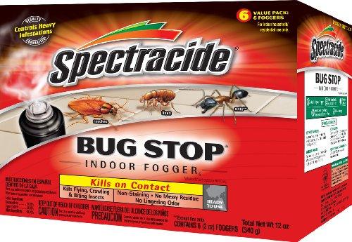 Spectracide Bug Stop Indoor Fogger5 (HG-67759) (6 - 2 oz)