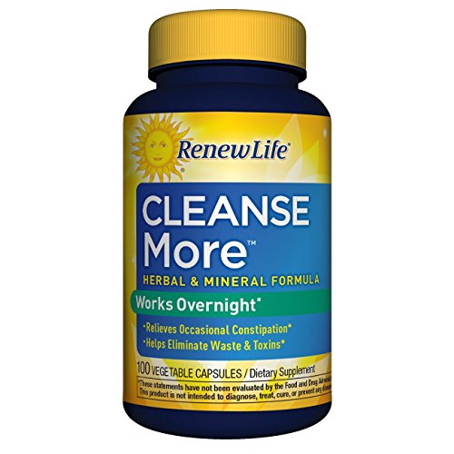 Renew Life - Cleanse More - constipation relief dietary supplement