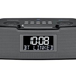 Sangean FM-RDS AM/Bluetooth/Aux-in/USB Charging Digital Tuning Clock Radio