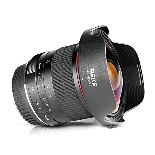 Meike 8mm f/3.5 Ultra Wide Fisheye Lens for All Canon