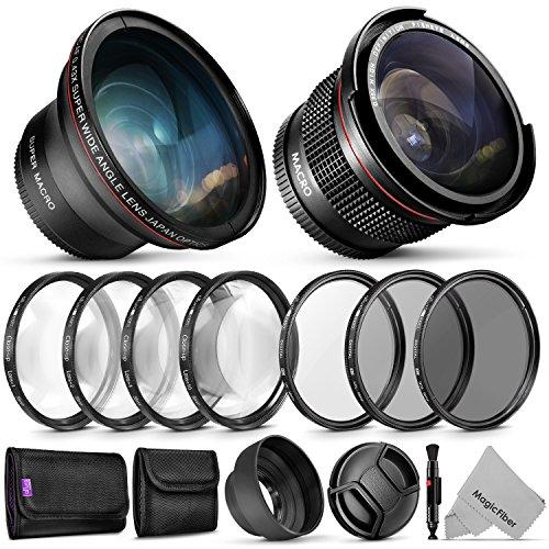 58mm Altura Photo Essential Accessory Kit for Canon EOS Rebel DSLR Bundle