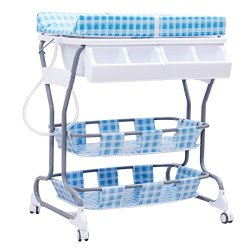 Costzon Baby Changing Table, Diaper Station Nursery Organizer