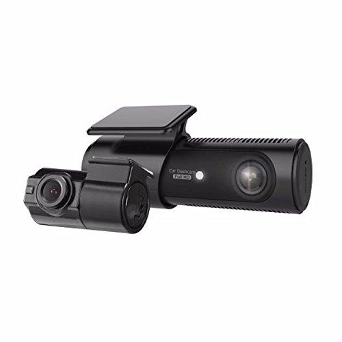 LG Innotek 2-Channel Full HD Front + Rear 1080p Dashcam with Wi-Fi, 32GB MicroSD