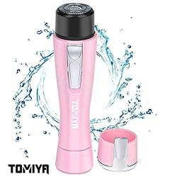 Bangbreak Tomiya Portable Miniature female facial hair remover. Electric Hair remover for women, Safe Painless Hair removal for women,Epilator for Face Lip Body Chin and Cheek.