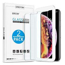 OMOTONHD TemperedGlassScreenProtectorCompatiblewith Apple