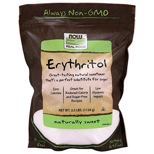 NOW Foods Erythritol, 2.5-Pound