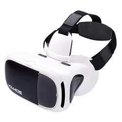 VR Headset, KAWOE 3D Virtual Reality Glasses Compatible with Smartphone Size from 4.5''-6''