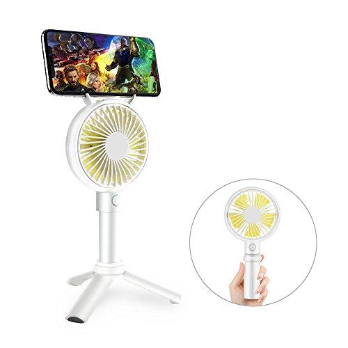 Handheld Fan, GAVAER Mini Portable Fan Rechargeable Battery Operated