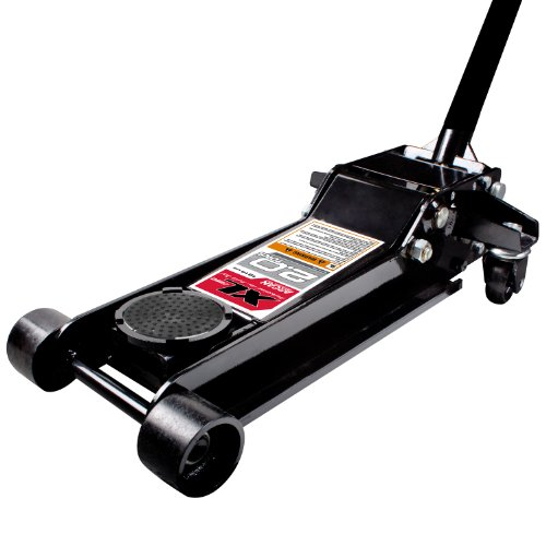 Arcan XL20 Black Low Profile Steel Service Jack - 2 Ton Capacity