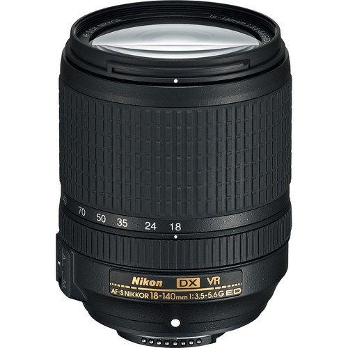 Nikon AF-S DX NIKKOR 18-140mm f/3.5-5.6G ED Vibration Reduction Zoom Lens