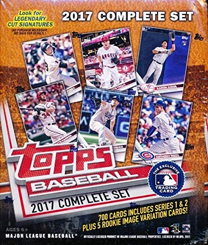2017 Topps Baseball Complete Retail Factory Set (705 Cards)