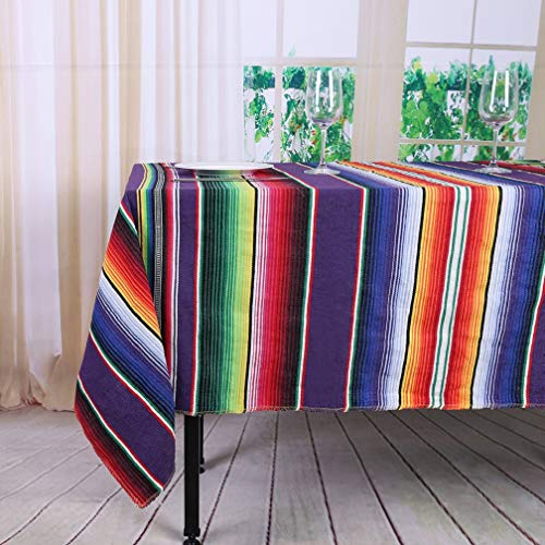 TRLYC Pack of Ten Wedding 57 by 102-Inch Mexican Serape
