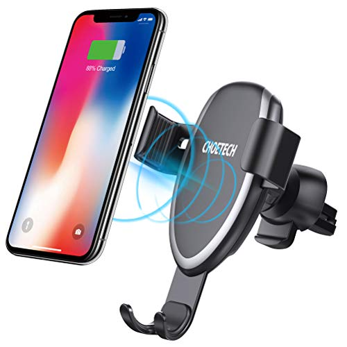 Wireless Charging Car Mount Compatible with iPhone XR,XS,XS Max