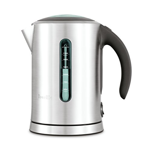 Breville The Soft Top Pure Electric Tea Kettle, Silver