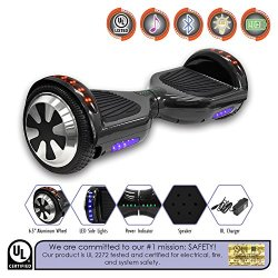 Hoverboard Electric Self Balancing Scooter Sidelights