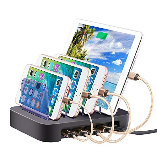 4 Ports USB Charging Station Universal Detachable