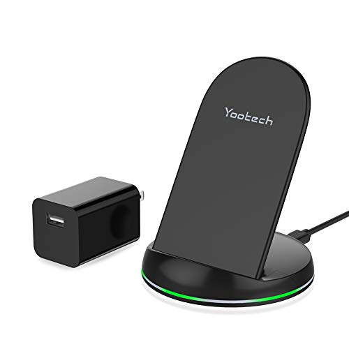 Wireless Charging Stand with Quick Adapter Compatible with iPhone Xs