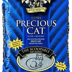 Precious Cat Ultra Premium Clumping Cat Litter- Economy Pkg 80 Pounds