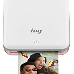 Canon IVY Wireless Bluetooth Mobile, Portable, Mini Photo Printer, Rose Gold (3204C001)