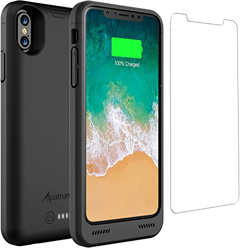 iPhone X/XS Battery Case Qi Wireless Charging Compatible