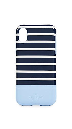 Stripe Card iPhone X Case, Blue Multi, One Size