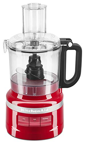 KitchenAid Food Processor, 7_Cup, Empire Red