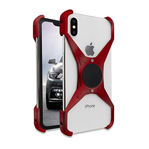 Rokform Predator Slim Aerospace Aluminum Minimalist Magnetic Case (Red)