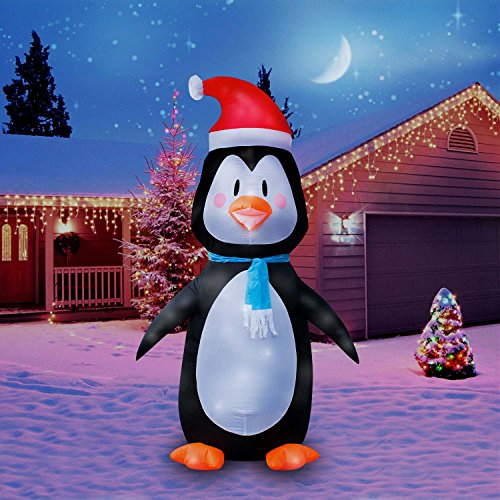 Holidayana Christmas Inflatable Giant 8 Ft. Penguin