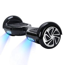 MINICoo 6.5 inch Electric Scooters with Anti Slip Rubber Pads