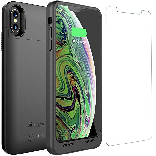 iPhone Xs Max Battery Case Qi Wireless Charging Compatible