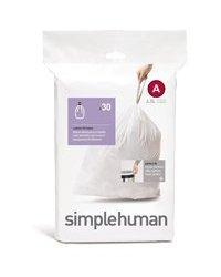 simplehuman Custom Fit Trash Can Liner A, 4.5 Liters