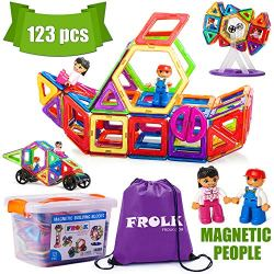 Frolk Magnetic Building Blocks Set