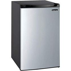 Magic Chef Refrigerator, 4.4 cu. ft, Stainless Steel