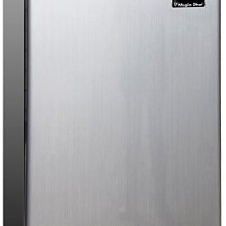Magic Chef Refrigerator, 2.4 cu.ft, Stainless Look, Steel