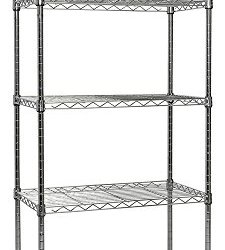 Apollo Hardware Chrome 5-Shelf Wire Shelving Apollo Hardware Chrome 5-Shelf Wire Shelving