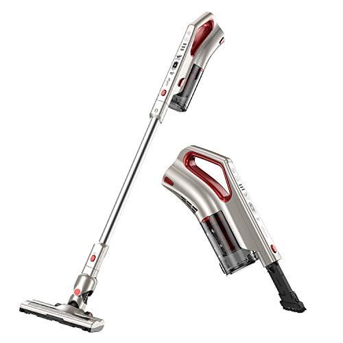 Comfyer Cordless Vacuum Cleaner, 2 in 1 Bagless Stick Vacuum