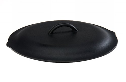 Lodge 12 Inch Cast Iron Lid. Classic 12-Inch Cast Iron