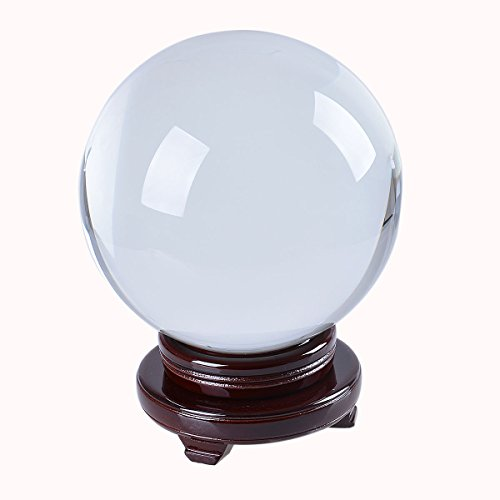 LONGWIN Huge Clear Divination Crystal Ball