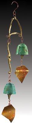 Harmony Hollow Wedding Bronze Wind Bell