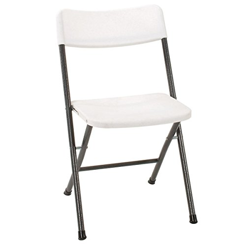 Cosco Resin Folding Chair with Molded Seat