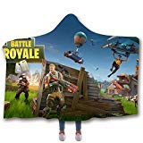 Sebetty Hooded Throw Blanket, Fortnite Soft Warm
