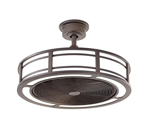 Brette Indoor/Outdoor Ceiling Fan with Two 23W LED